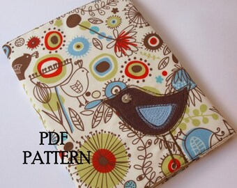 Journal Cover PDF Pattern Direct Download - 'Little Bird'