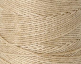 Tools & Supplies-4-Ply Irish Linen Cord-Waxed-Natural-Quantity 10 Yards