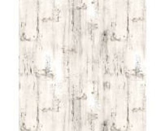Fabric by the Yard - HOMESTEAD - Wood Texture Cream