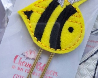 Bumblebee Paper Clip