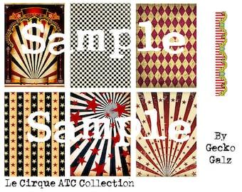 Le Cirque ATC Collection