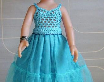 Blue princess dress baby doll