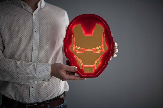Iron Man Helmet Light Iron Man Lamp Iron Man Night Light Iron