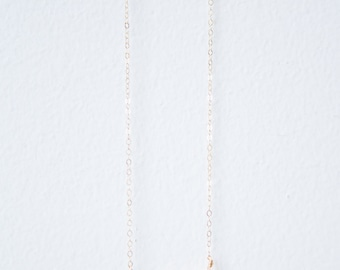 Electroplated Howlite Necklace // Gold or Silver