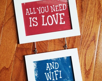 All You Need Is Love +1 Smaller Framed Print