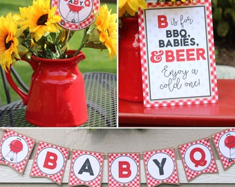 Lovely Baby Q Baby Shower Decorations   BBQ ...