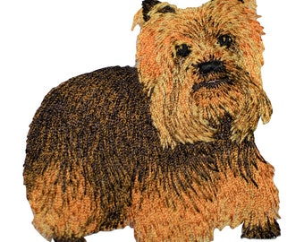 Yorkie Dog Applique Patch (Iron on)