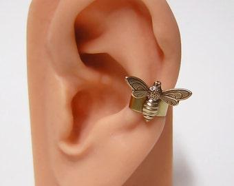 tiny Bee Ear Cuff