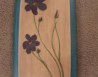Floral Door Panel