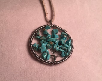 Authentic Turquoise Tree of Life