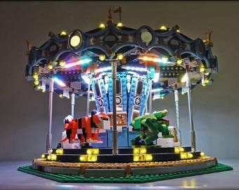 Light up kits for LEGO 10257-Carousel  - (Model not included)