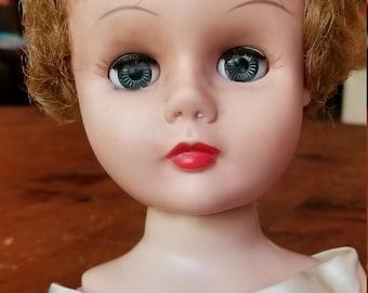 Vintage bedroom doll unknown maker Needs Restorarion