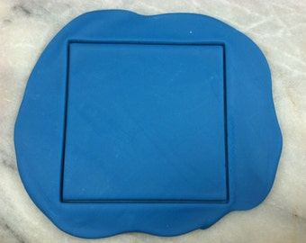 Square Cookie Cutter - SHARP EDGES - FAST Shipping - Choose Your Own Size!