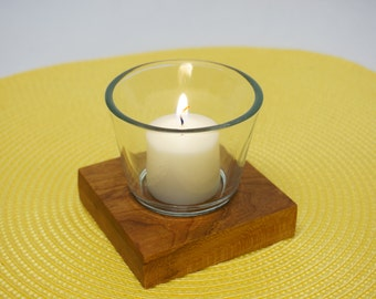 Cherry Votive / Tealight Candle Holder - Single