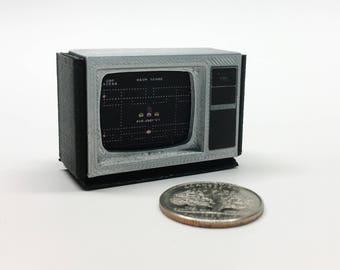 Mini moniteur Texas Instruments Ti-99/6 - imprimé 3D!