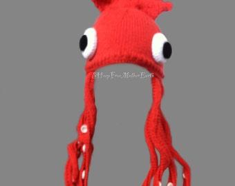 Squid Hat (Architeuthis Galerum)