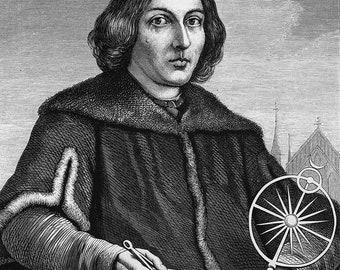 Nicolaus Copernicus Print/Poster. (5198)