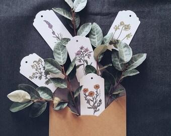 Botanical Swing Tag Set