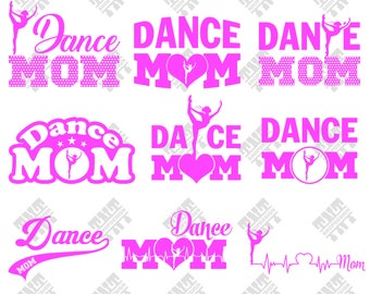Dance svg - Dance mom svg - Dance mom vector - Dance mom digital clipart for Print, Design or more, files download svg, png, dxf