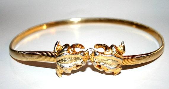 MiMi Di N Vintage Gold Belt