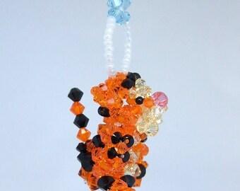 Tigger Suncatcher in Swarovski Crystal