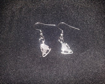 Ice skates Earrings with stainless steel french hooks