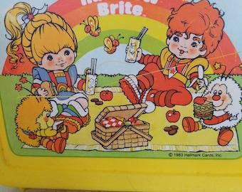1983 Rainbow Brite Lunch Box rare!