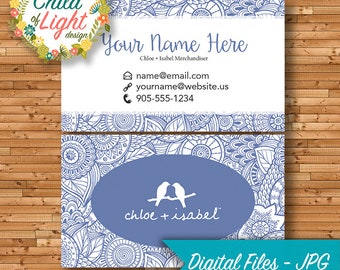 Chloe isabel etsy quick view chloe isabel business cards colourmoves