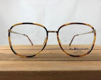 Vintage Polo Ralph Lauren Tortoise Shell Eyeglasses