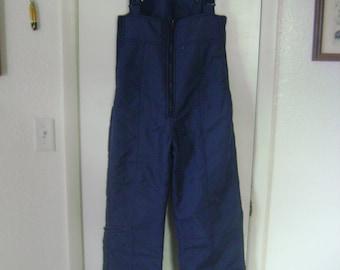 Vintage Skitique Bib Overall Ski Pants