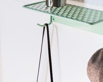 shelf, metal shelf, wall mounted, modern