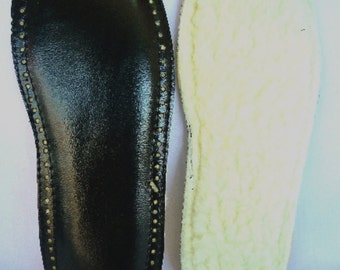Soles for crochet slippers, pre punched holes, indoor use soles US 7.5