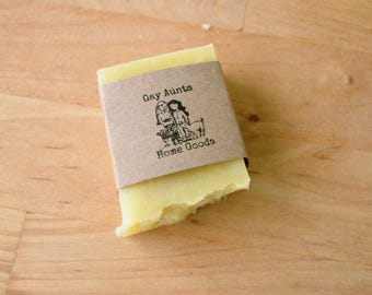 Vegan Soap - Handmade Soap - Vitamin E & Tea Tree Oil Facial Soap