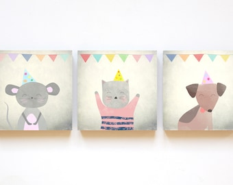 "print set ""party"" in 12cm x 12cm"