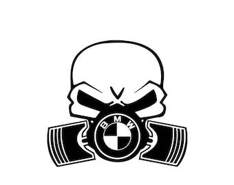 BMW GazMask (Free Same day Shipping)