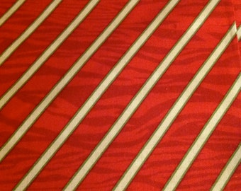 Peppermint Twist by Dana Brooks for Henry Glass, Christmas fabric, Red  and White Diagonal Stripe Fabric, Fabric From The Bolt
