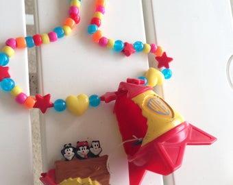 Animaniacs toy necklace