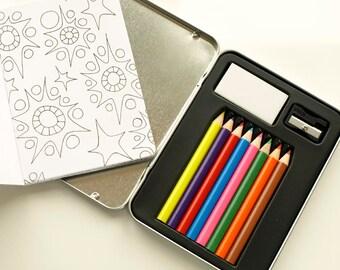 Mini Colouring Travel Doodle Kit