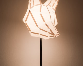 Fox large do it yourself paper lamp shade fox medium do it yourself paper lamp shade solutioingenieria Choice Image