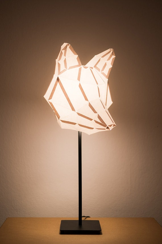Fox medium do it yourself paper lamp shade audiocablefo