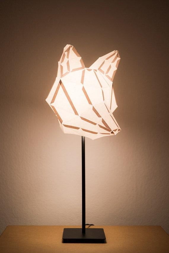 FOX MEDIUM / Do It Yourself Paper Lamp Shade