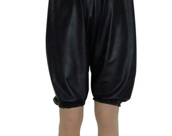 Black Onsie Rubber Bloomers (Pants/Knickers).  Play suit Romper.  ABDL. Sissy.  2XL / 3XL.  Baggy. Silicone / Latex Mix.