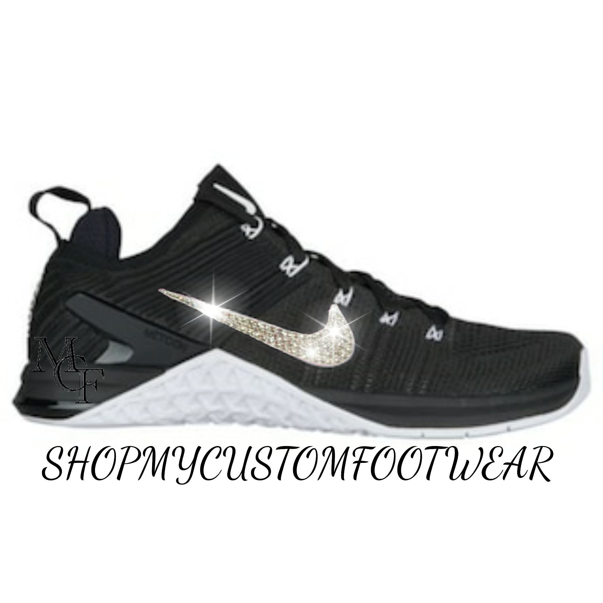... huge discount 7ac16 11e64 Nike Metcon DSX Flyknit 2 customized with Swarovski  Crystal ... 3fcb2f9dd