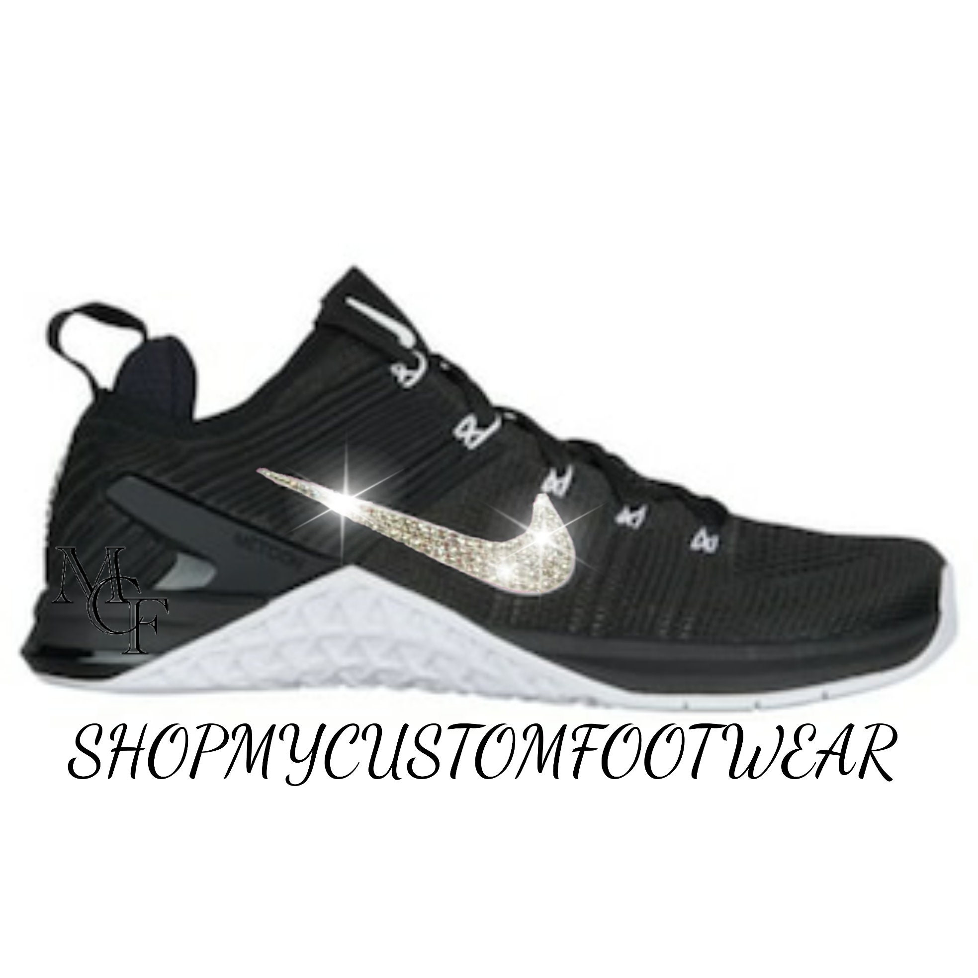 ... huge discount 7ac16 11e64 Nike Metcon DSX Flyknit 2 customized with  Swarovski Crystal ... c391fc28d4c2