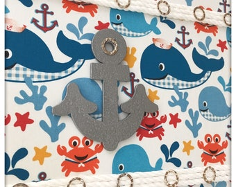 Whales and Friends Nautical Wall Art