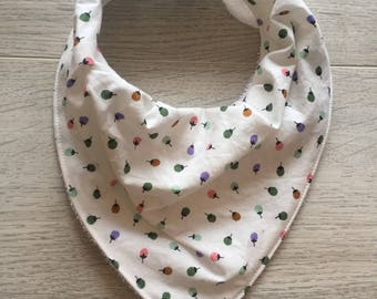 SOLD baby/toddler drool bandana bib
