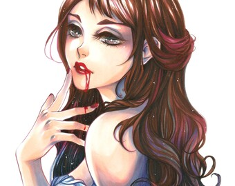 POSTCARD ~ Bloodlust