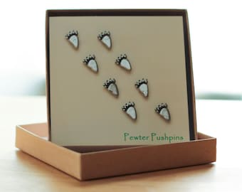 Bear Track Pushpins For Your Corkboard