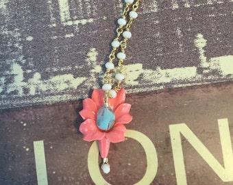 Flowering Fun necklace