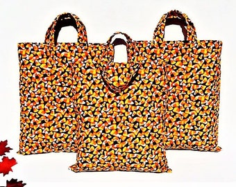 Halloween Trick or Treat Bag with Candy Corn